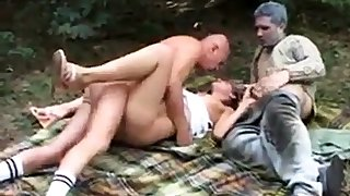 Teen Bianca fucked with Old Men disabled